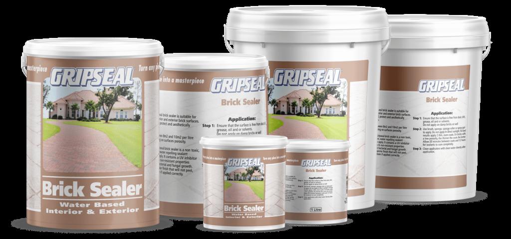 GripSeal BrickSealer